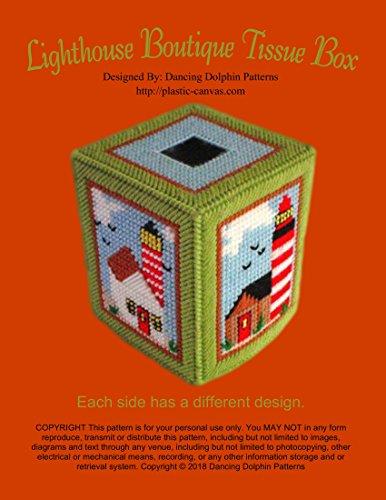 - Lighthouse Boutique Tissue Box: Plastic Canvas Pattern