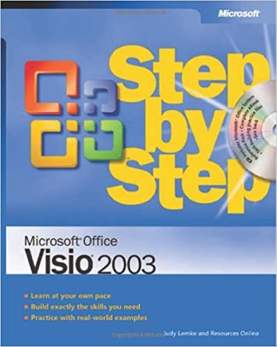 microsoft office visio 2003 step by step judy lemke resources online 0790145212504 amazoncom books - Office Online Visio