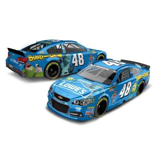 NASCAR Jimmie Johnson #48 Lowe's Pixar's Monsters University 1/64 Kids Hardtop Car 2013