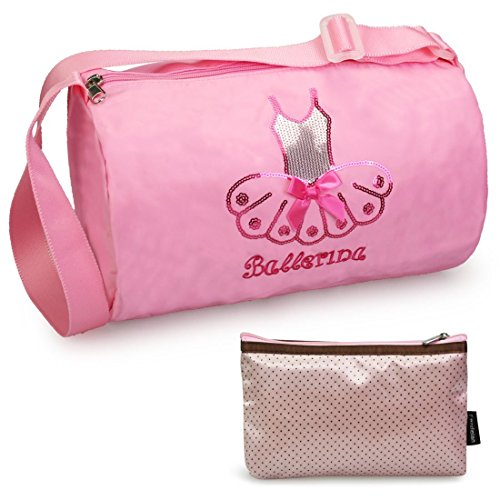 (kilofly Ballerina Ballet Tutu Dance Bag + Handy)