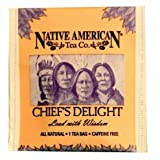 Chief's Delight Native American Herbal Tea (100 Tea Bag Box), Berry Flavor