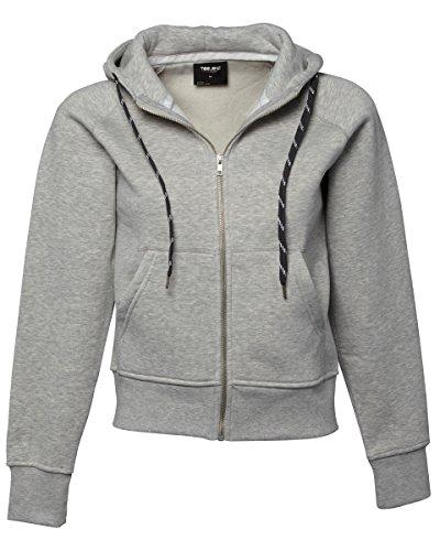 Tee Jays - Sudadera con capucha - para mujer gris