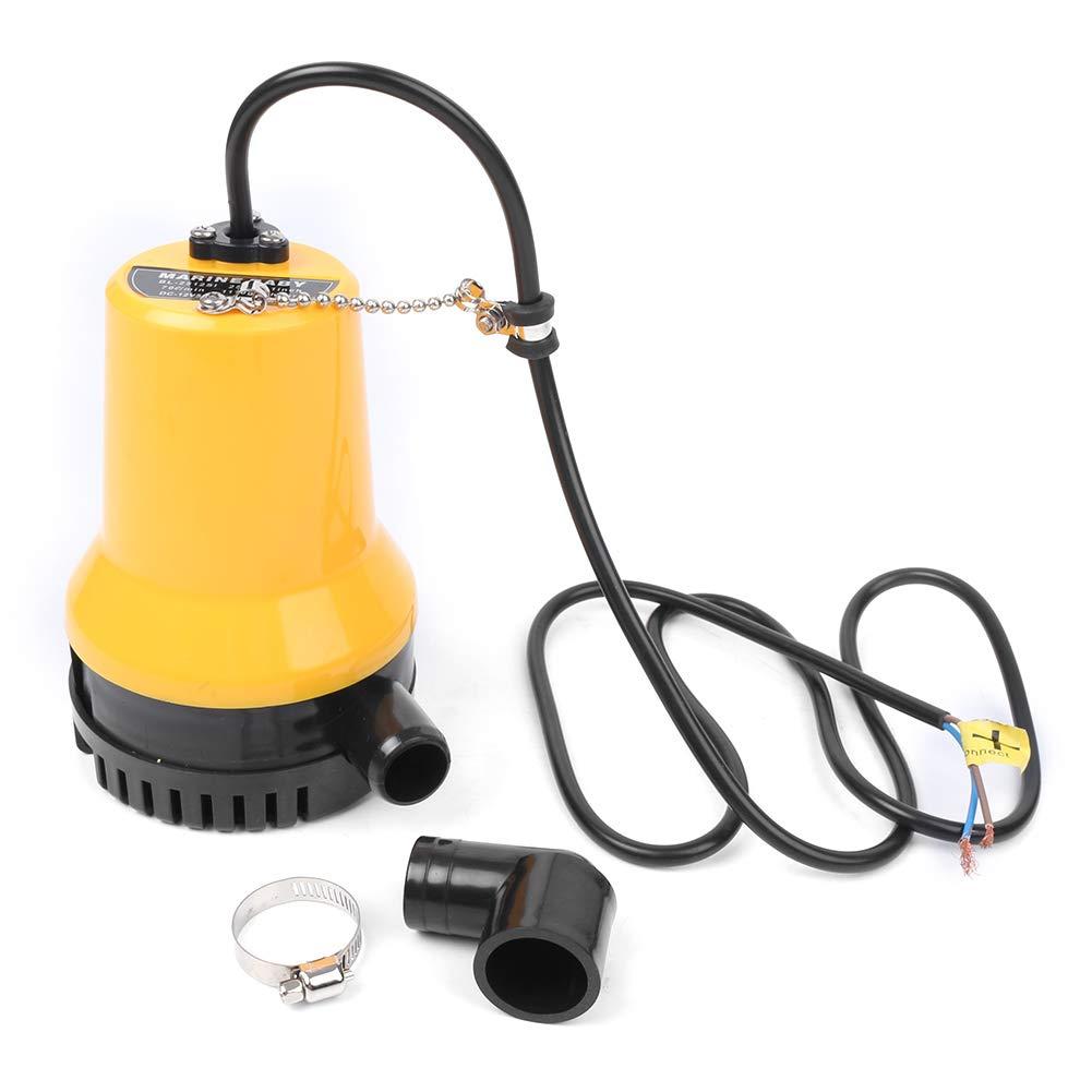 Newsmarts 24V Submersible Utility Pump, 1620 GPH Water Drain Pump