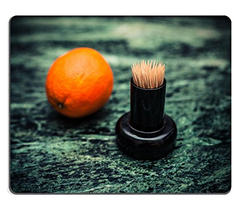 msd-customized-natural-rubber-mouse-pad-personalized-custom-picture-orange-and-a-bunch-of-toothpicks