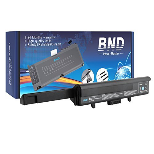BND 7800mAh Laptop Battery [with Samsung Cells] for Dell XPS M1530 / Dell XPS 1530 , fits P/N TK330 RU006 GP975 XT828 XT832 RN897 RU028 RU030 RU033 - 24 Months Warranty [9-Cell (Dell Xps M1530 Battery Life)
