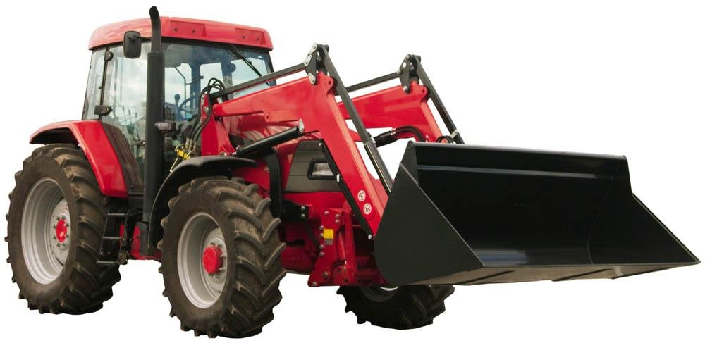 Red Tractor Wall Decal Wallmonkeys Peel and Stick Graphic (36 in W x 18 in H) WM314039