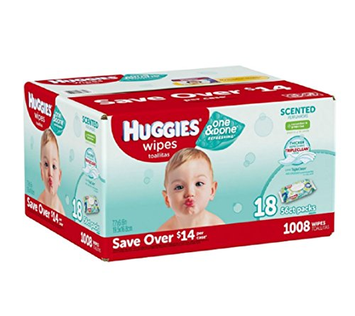 Huggies Done Refreshing Wipes Scented