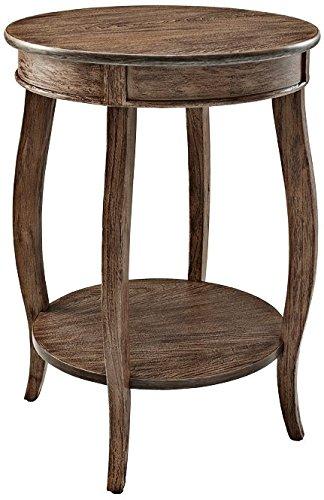 powell-furniture-hazelnut-round-table-with-shelf