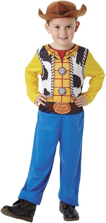 Toy Story 4 - Disfraz Woody (Rubies 300354-M): Amazon.es: Juguetes ...