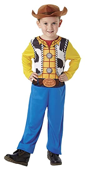 Toy Story 4 - Disfraz Woody (Rubies 300354-S): Amazon.es: Juguetes ...