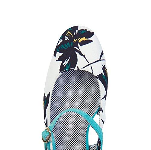 Ruby Shoo Women's Iris Pumps & Matching Santiago Bag Aqua ON7Pja7g2Q