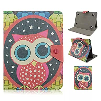 10 inch lenovo tablet case,Premium PU Leather Case Cover for 10.1-Inch Android Tablet PC inclu. PolaTab 10.1 Inch (Q10.1 / Elite Q10.1 / Elite Q10.2), Fusion5 10.1 Inch (FINITE4 / Xtra SPACE4 / Xtra POWER4), JYJ 10 Inch, Dragon Touch A1/A1X 10.1 Inch, Time