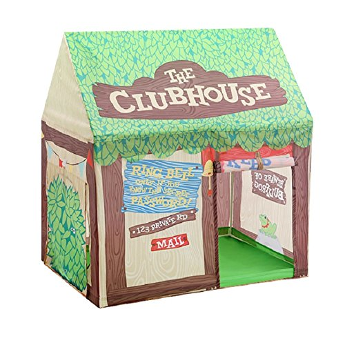 Abplus Green Play Kids Tent Large Children Game Room Boys Girls Castle Cubby Playhouse Bithday Christmas Gifts Outdoor Indoor Toys - Games For Kids Room