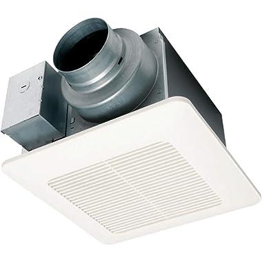 Panasonic FV-0511VQ1 WhisperCeiling DC Ventilation Fan, Speed Selector, SmartFlow Technology, Quiet