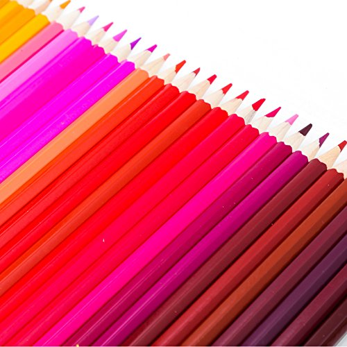 -[ Newdoer 120 Ultimate Coloured Pencil Set,The Best Colouring Pencils for Artists, Comics, illustr