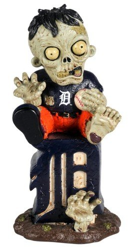- Detroit Tigers Sitting On Logo Zombie
