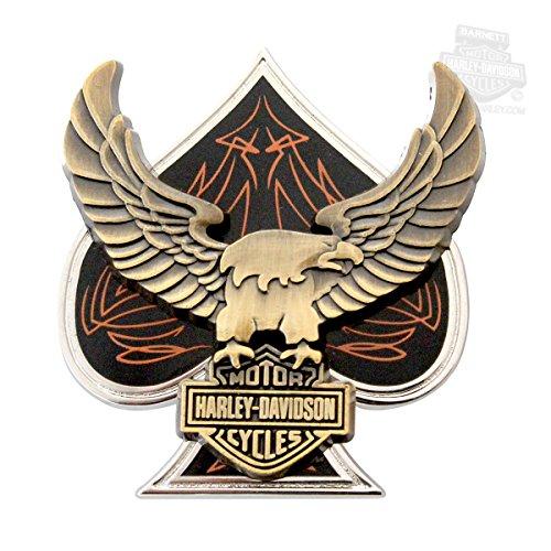 Harley Davidson Spade Eagle B S Pin