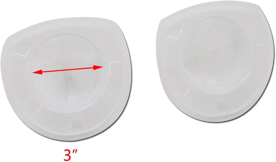 Tulead 4PCS Filter Dustbuster Filter Replacement Filter White CHV9610,CHV1210,CHV1410,CHV1410B,CHV1410L,CHV151