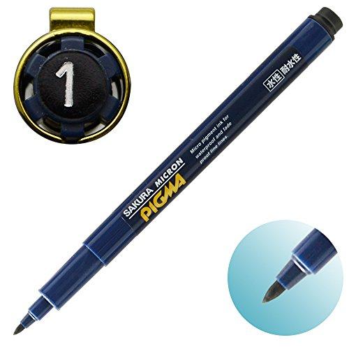 Sakura Pigment Ink Pen, Pigma Micron 1, Black (ESDK1#49) Photo #3