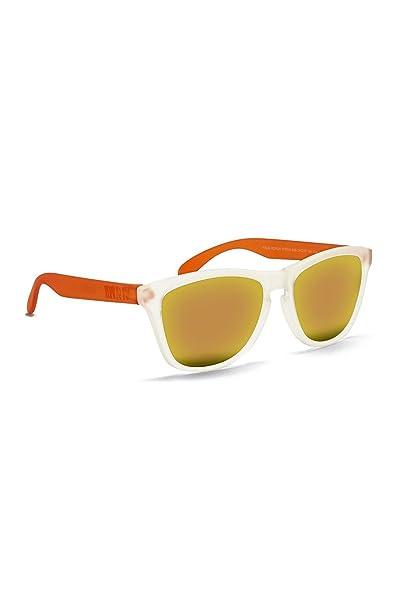KOALA BAY Gafas Polarizadas Palm Beach Naranja Blanco Lentes Rojo Espejo