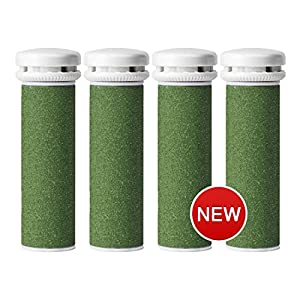 Emjoi Micro-Pedi Compatible Refill Rollers by Pedi Active (Xtreme Coarse) - Pack of 4