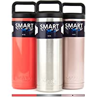 Smart Coolers Double Wall Insulated 100% Leak Proof 18oz Bottle