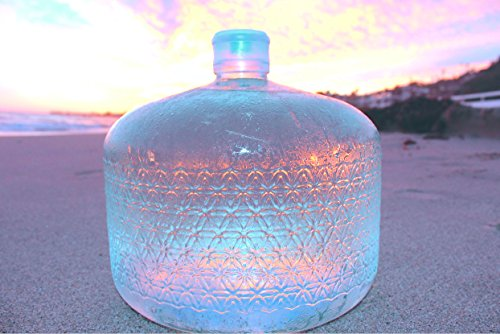 glass water bottle 5 gallon - 3