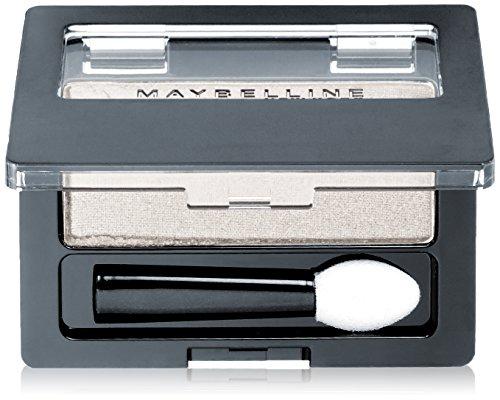 Maybelline Expert Wear Singles Eyeshadow, 0.09 oz, NY Silver