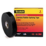 3M 130C High-Voltage Rubber Splicing Electrical Tape, 1'' X 30' (1 per pack)