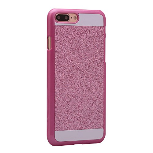 iPhone 7 Plus cover PC, iPhone 7 Plus Rigida Case, Asnlove Custodia in policarbonato rigida hard case transparente morbile crystal caso protezione back shell skin custodia Rosa