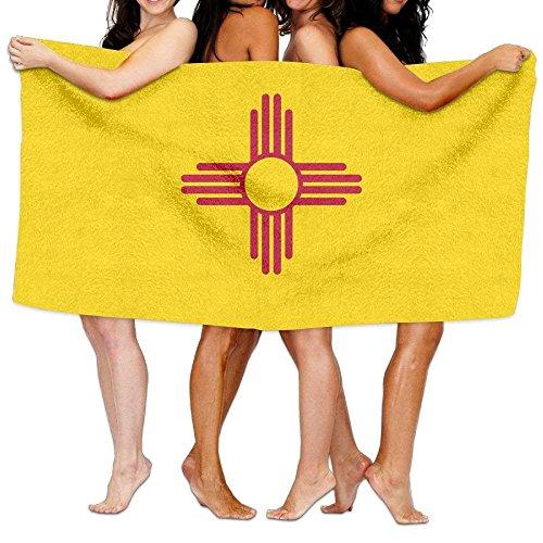 (Beach Towel Flag Of New Mexico 80