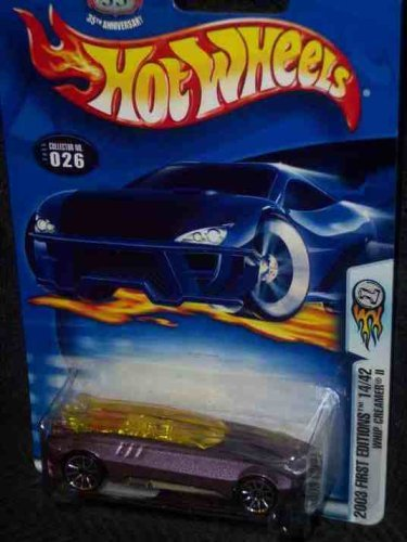 2003 First Editions -#14 Whip Creamer 2 #2003-26 Collectible Collector Car Mattel Hot Wheels