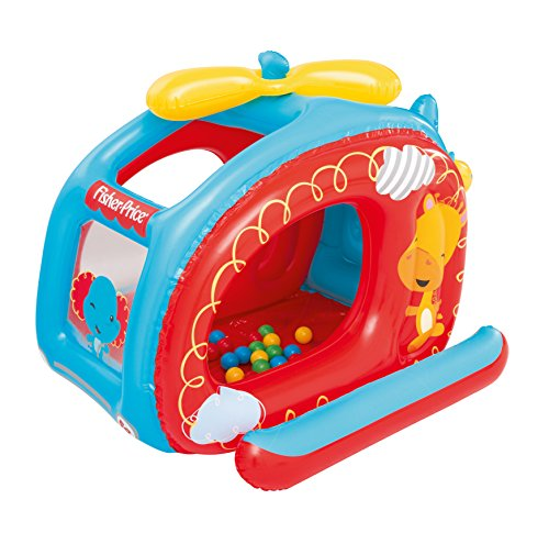 (Fisher-Price Helicopter Inflatable Ball Pit)