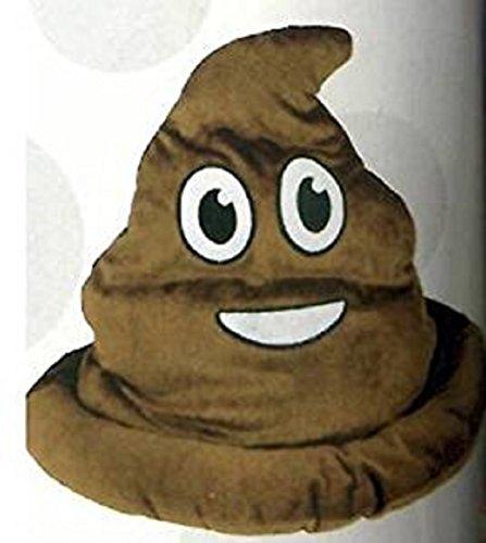 Fake Emoji Poop Hat -