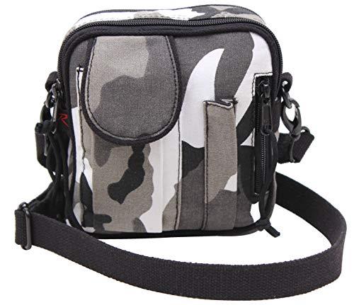 Rothco Camo Excursion Organizer Shoulder Bag, City Camo