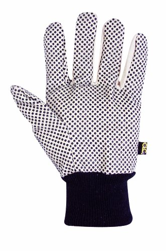 CLC Custom Leathercraft 2006 Cotton Canvas Gloves with Gripper Dots