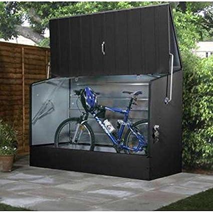 Bosmere Trimetals A303 Bicycle Storage Unit, 77u0026quot; X 35u0026quot; ...