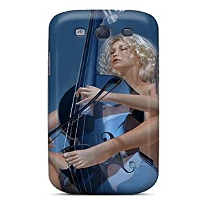 Hot Tpu Covers Cases For Galaxy/ S3 Cases Covers Skin - 3d Music Babr by icecream design