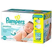 Product of Pampers Sensitive Baby Wipes (800 ct.) - Baby Wipes [Bulk Savings]