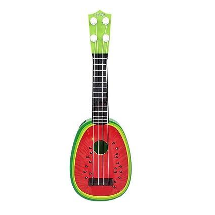 Amazon.com: 4 cuerdas Guitarra Acústica Guitarra Toy for ...