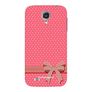 HomeSoGood Girly Present From Friend Pink 3D Mobile Case For Samsung S4 ( Back Cover)