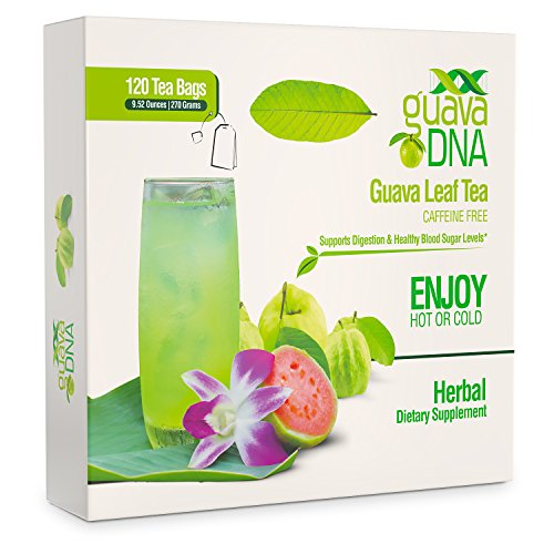 Diabetes Tea - Guava Leaf Tea 120 Individually Wrapped Teabags