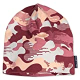Polarn O. Pyret Autumn ECO CAMO Cap (9-12YRS) - Faded Rose/9-12 Years