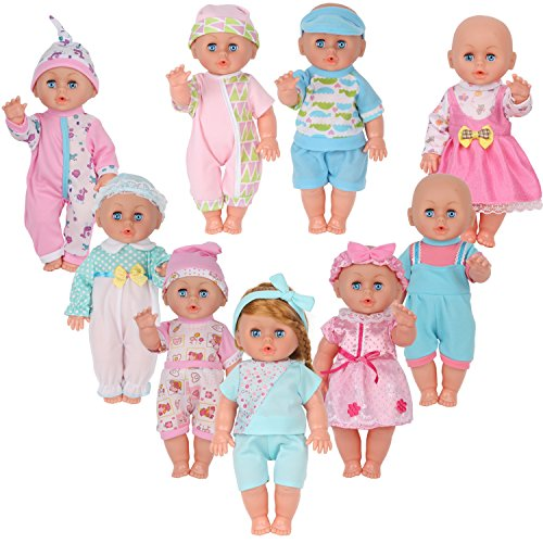 Best Young Buds Pack Of 9 For 11 12 13 Inch Reborn Baby Born Alive