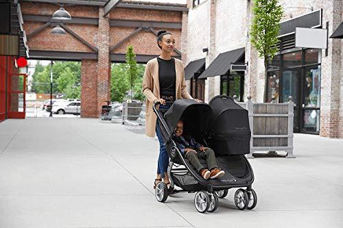 512eRqnrD8L - Baby Jogger City Mini 2 Double Stroller, Slate