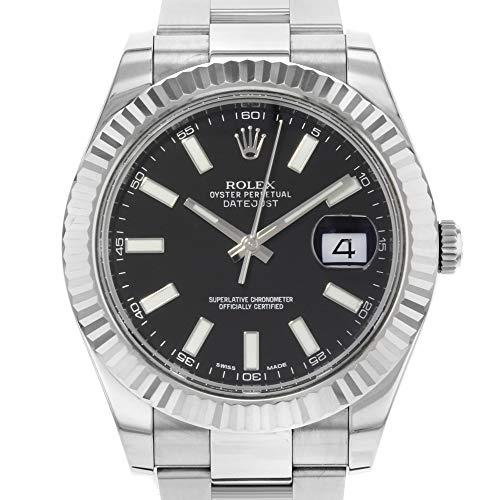 Rolex Datejust II 41 116334 Black Dial Men s Luxury Watch