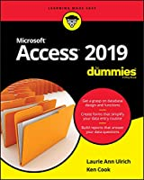 Access 2019 For Dummies Front Cover