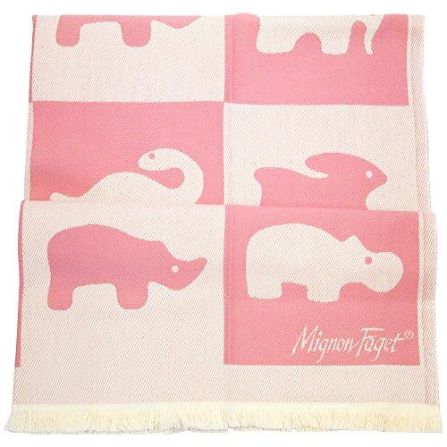 Mignon Faget Animal Cracker Cotton Baby Blanket ()