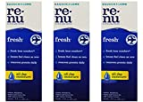 Renu Fresh Multi-Purpose Contact Lens Solution 2 oz Travel Size (Pack Of 3)