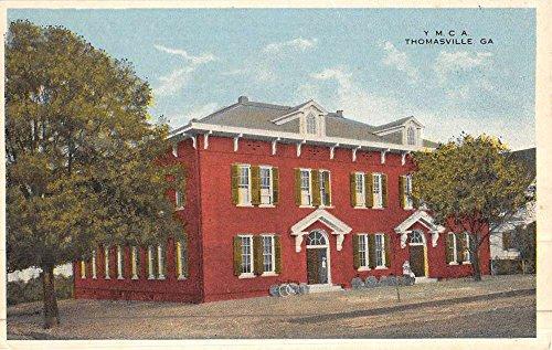 thomasville-georgia-ymca-street-view-antique-postcard-k46039